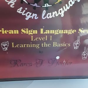 The Learning Connection Other - Learn American Sign Language + VHS Tapes